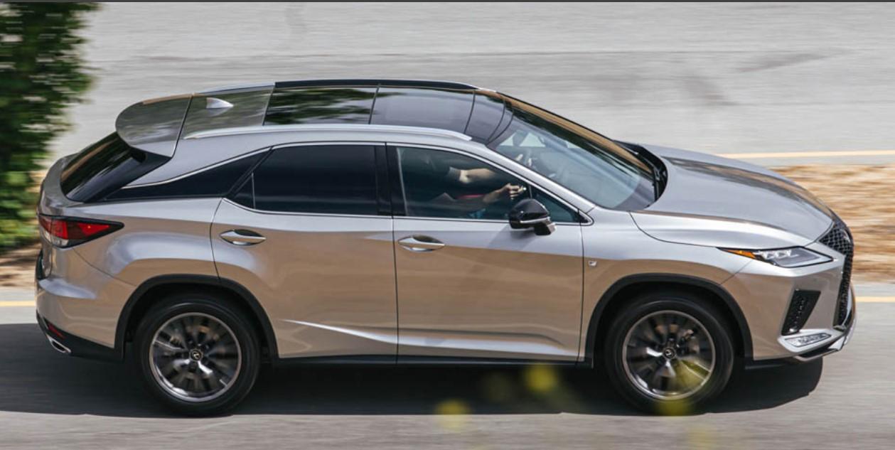 2021 Lexus RX 350 Color Options