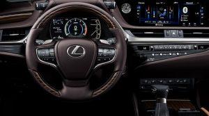 2022 Lexus ES 350 Interior Concept
