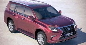2022 Lexus GX 460 Transmission Changes