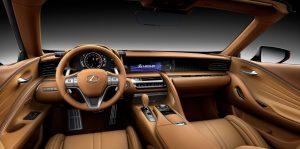 2022 Lexus LC 500 Convertible Interior