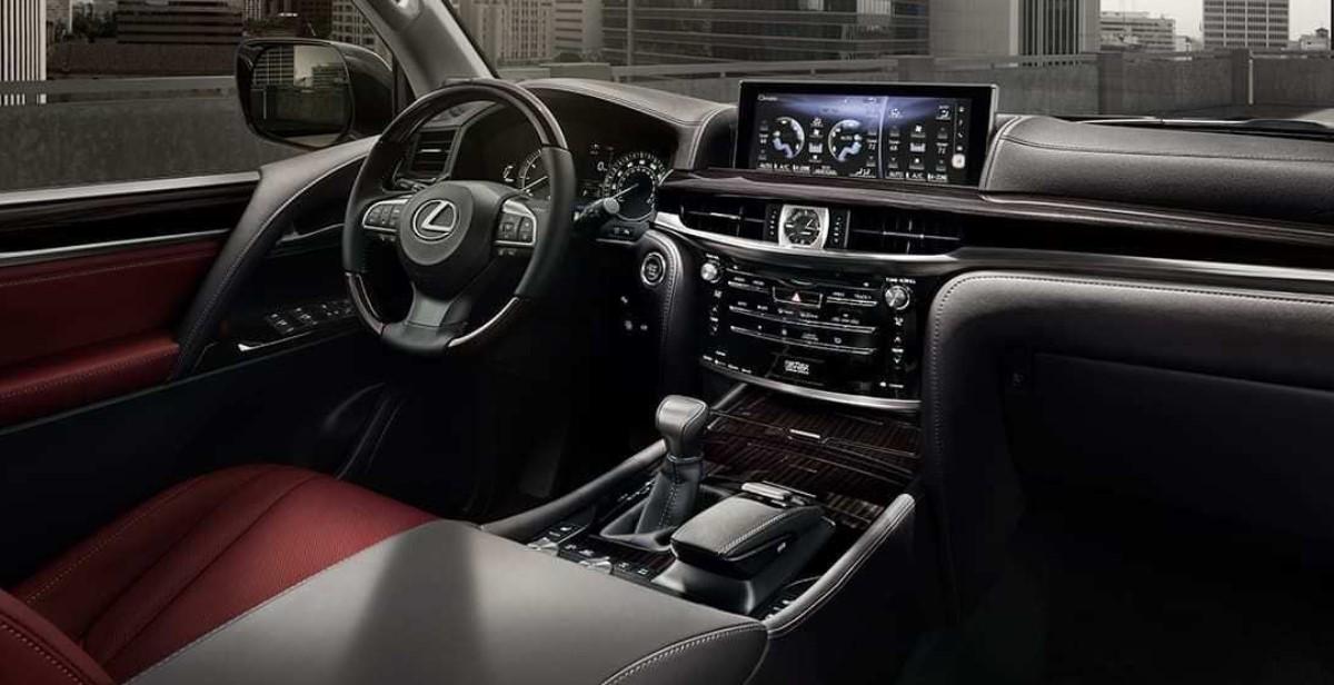 2022 Lexus LX 570 Interior Concept