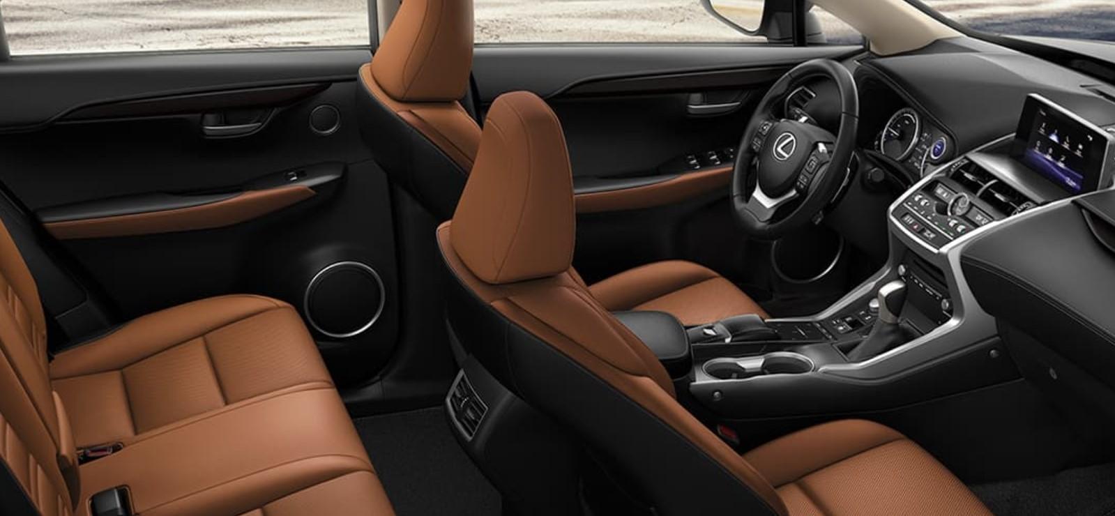 2022 Lexus NX Interior Change