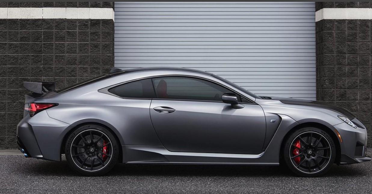 2022 Lexus RC F Track Edition Engine Change