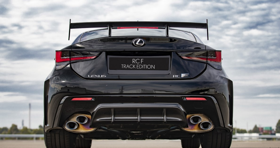 2022 Lexus RC F Track Edition Gas Mileage
