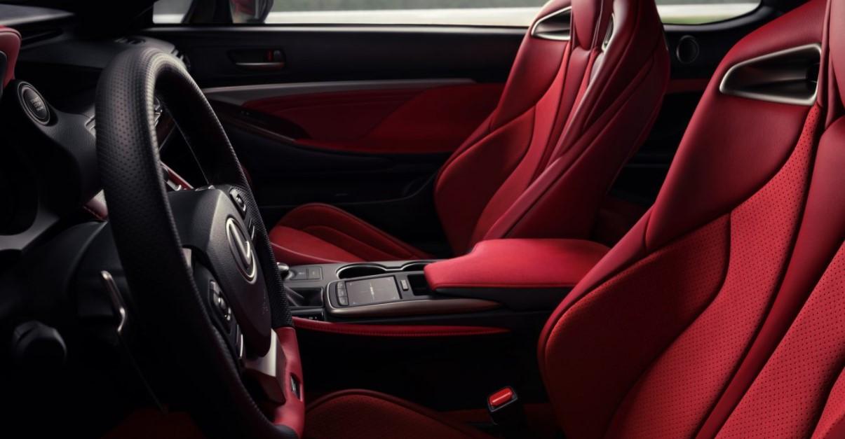 2022 Lexus RC F Track Edition Interior