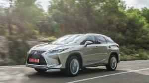 2022 Lexus RX 450h Hybrid Change