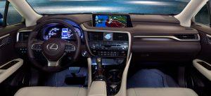 2022 Lexus RX 450h Hybrid Interior