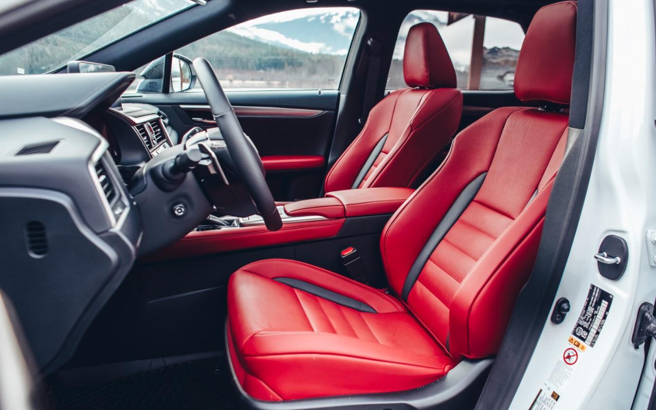 2022 Lexus RX 450h L Interior