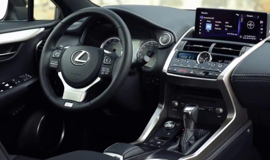 2021 Lexus IS 300 Interior