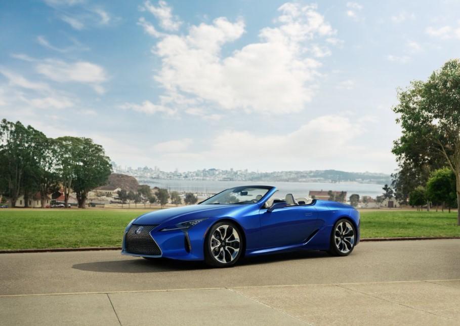 2021 Lexus LC 500 Convertible Changes