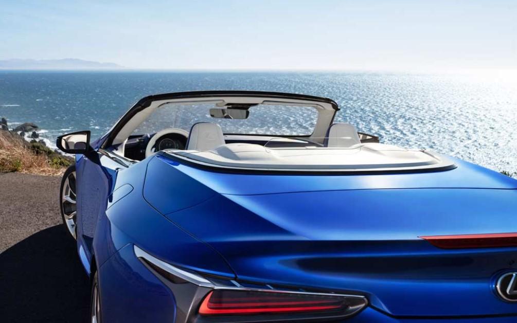 2021 Lexus LC 500 Convertible Price