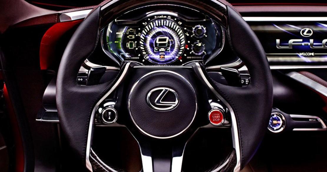 2021 Lexus LQ Interior