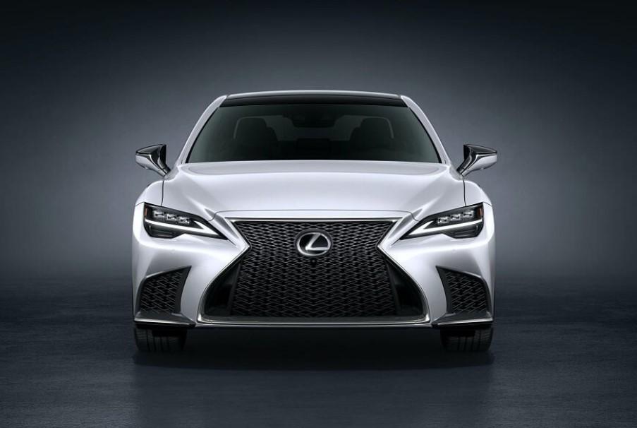 2021 Lexus LS 500 Color Concept