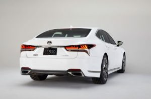 2021 Lexus LS 500 MSRP