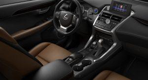 2021 Lexus NX Hybrid Interior