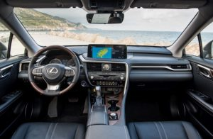 2021 Lexus RX350L Interior