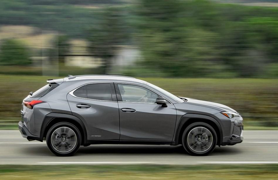 New 2021 Lexus UX 250h Black Line Edition Gas Mileage ...