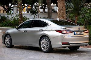 2022 Lexus ES300h Color Changes
