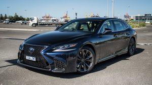 2022 Lexus LS 500h Redesign