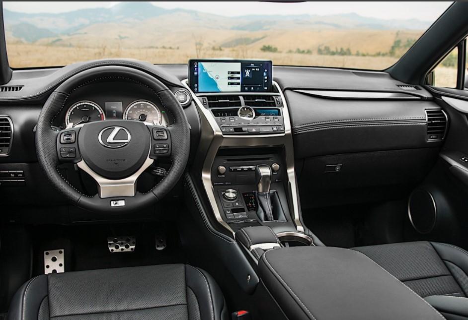 2022 Lexus NX 300 Interior