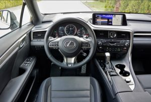 2022 Lexus RX 350 F Sport Interior
