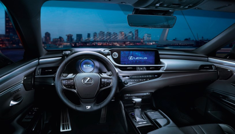 2022 Lexus ES ES300h Interior