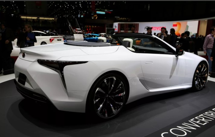 2022 Lexus LC 500 Convertible Color Change