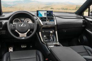 2022 Lexus NX300h Interior Concept