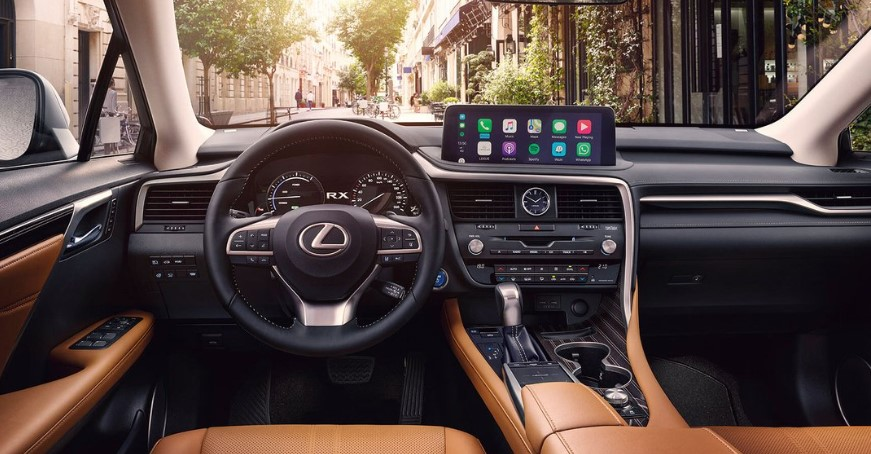 2022 Lexus RX Interior