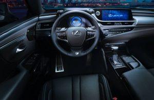 2022 Lexus ES300h Interior