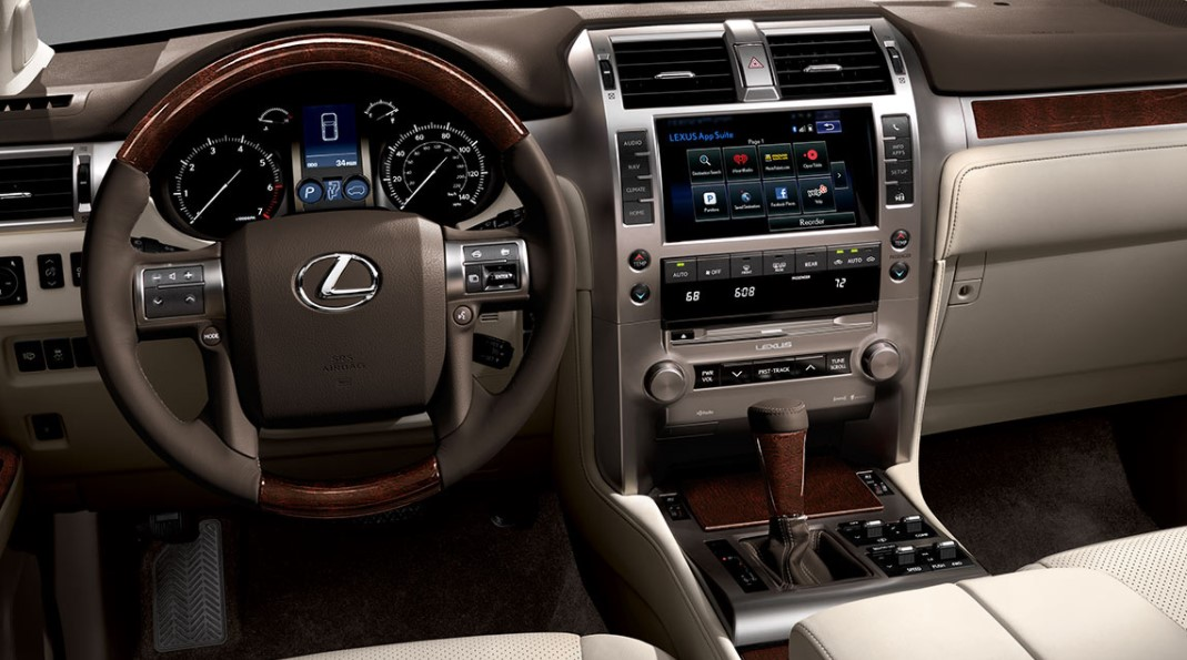 2022 Lexus GX 460 Electric Interior