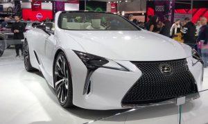 2022 Lexus LC 500 Convertible Colors