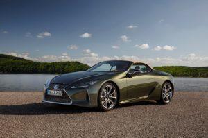 2022 Lexus LC 500 Convertible Premier Options Specs