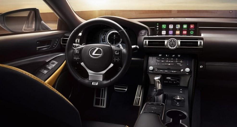 2022 Lexus RC 300 Interior