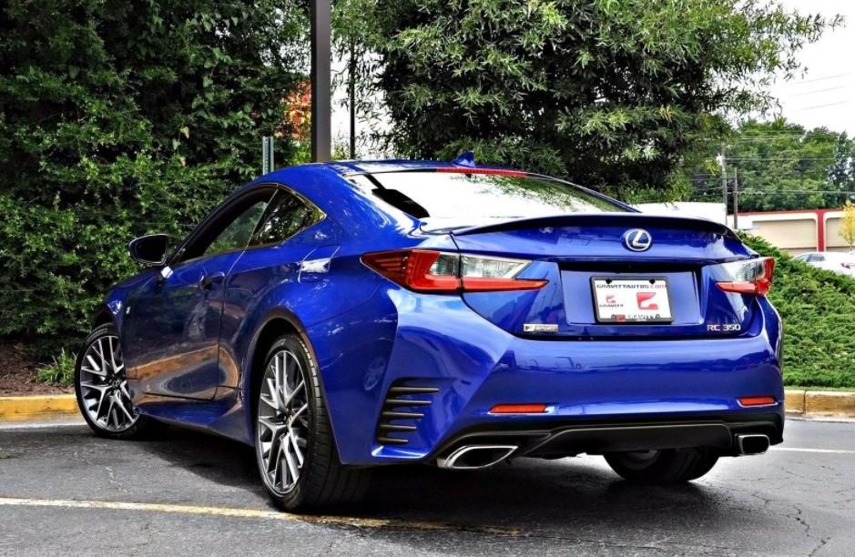 2022 Lexus RC F Exterior Change