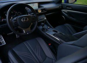 2022 Lexus RC F Interior