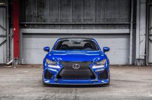 2022 Lexus RC F Specification