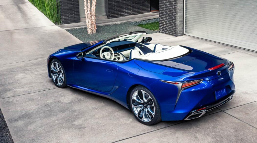 2022 Lexus LC Convertible Specification