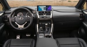 2022 Lexus NX 300 F Sport Interior