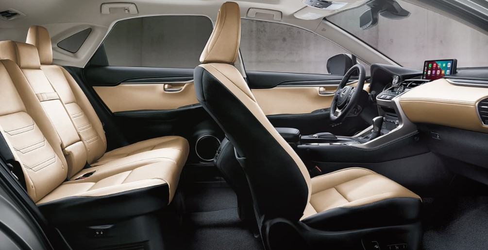 2022 Lexus NX F Sport Interior