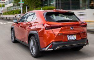 2022 Lexus UX 250h Color Option