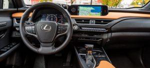 2022 Lexus UX 250h Interior
