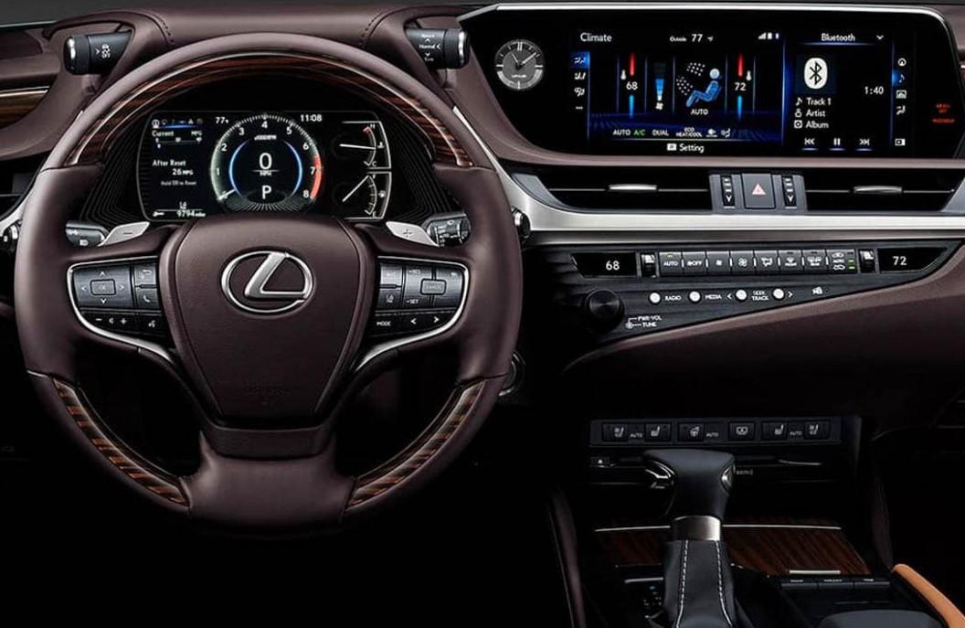 2022 Lexus ES 350 Electric Interior