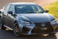2022 Lexus GS F Exterior Change