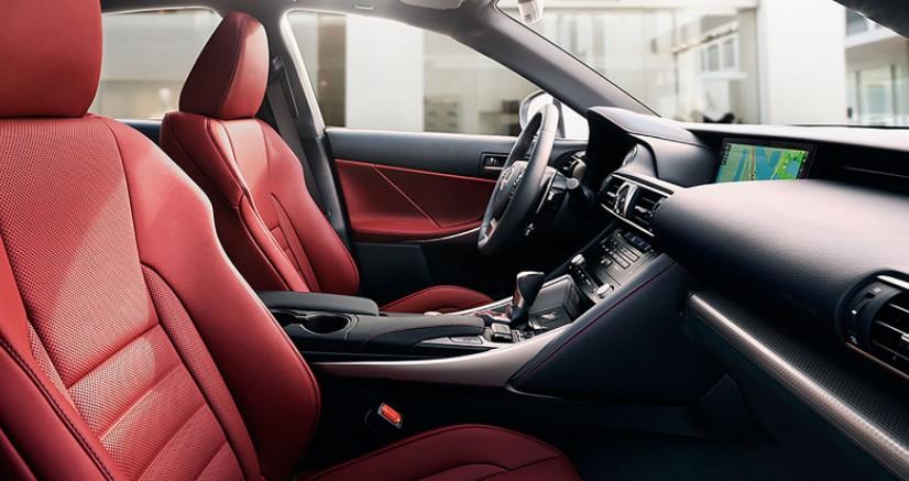 2022 Lexus IS Interior