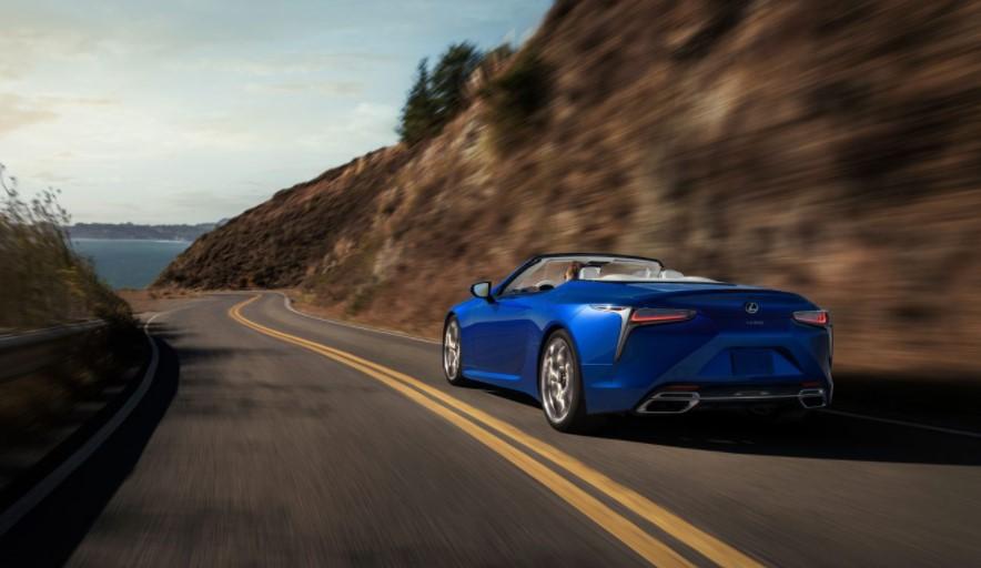 2022 Lexus LC 500 Convertible Change
