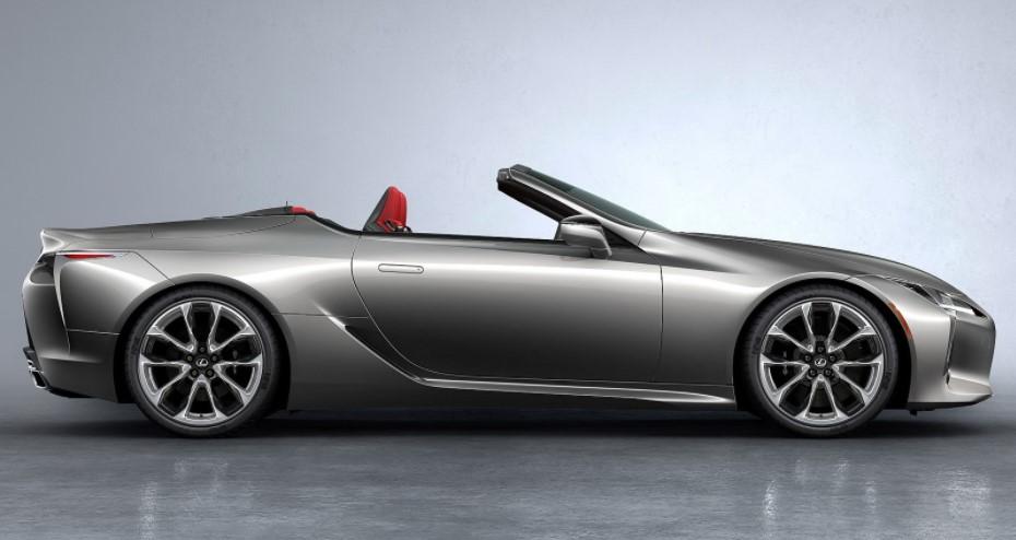 2022 Lexus LC 500 Convertible Redesign
