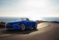 2022 Lexus LC 500 Convertible Release Date