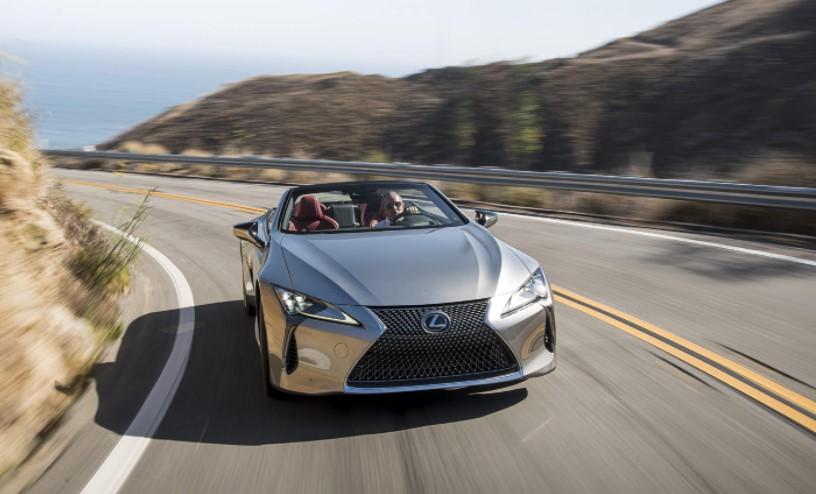 2022 Lexus LC 500 Convertible Rumor