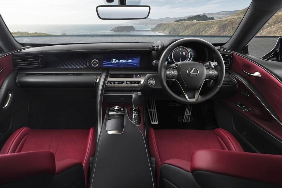 2022 Lexus LC 500 Coupe Interior